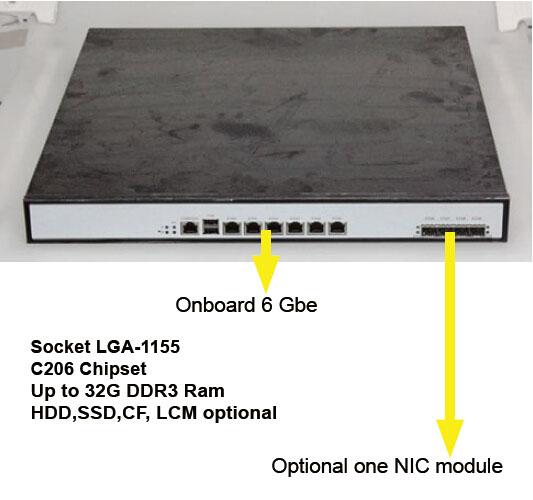 Network firewall hardware Xeon E3 or i3 i5 i7 Linux fedora